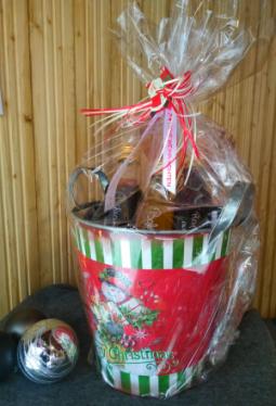 Geschenkset Weihnachts-Kübelchen