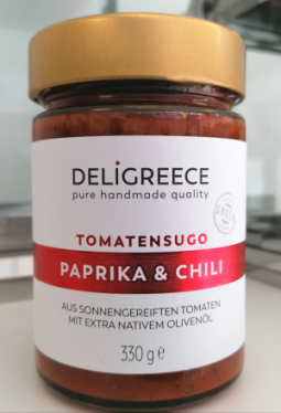 Tomatensugo mit Paprika & Chili 330g