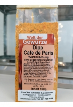 Dipp Cafe de Paris 100g