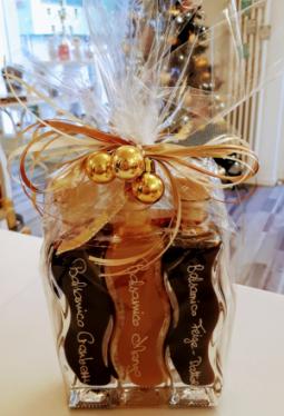Geschenkset 3x100ml Wellenflasche Crema Balsamica