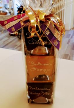 Geschenkset 3x100ml Würfelflasche Crema Balsamica