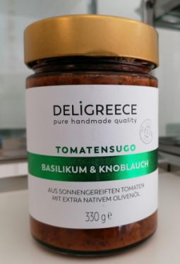 Tomatensugo Basilikum & Knoblauch 330g