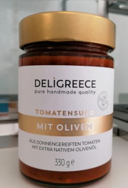 Tomatensugo mit Oliven 330g