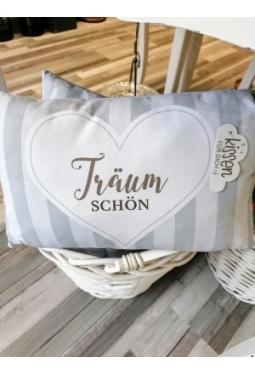 """Kissen """"Träum schön"""" 30x50cm"""